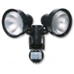 150W Night Eye PIR Twin Spot Light
